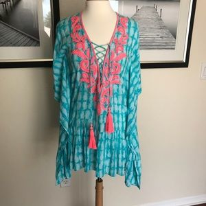 Lilly Pulitzer Tullie Coverup in Glass Bottom